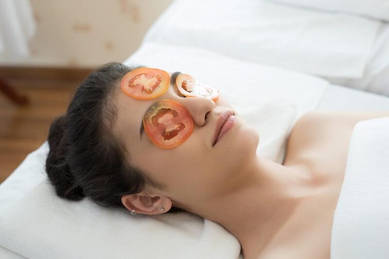 Masker Tomat Alami