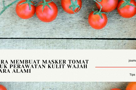 Masker Tomat Sederhana