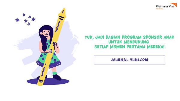 Program Sponsor Anak untuk Momen Pertama