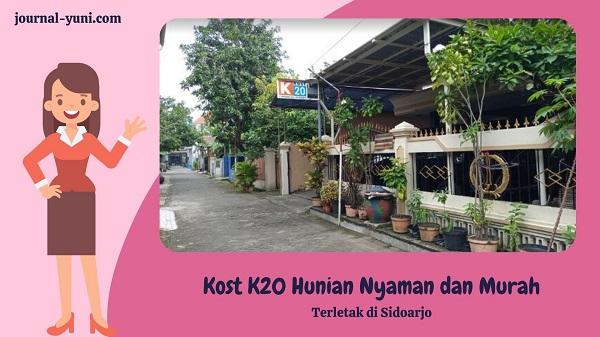 Kost K20 hunian nyaman dan murah